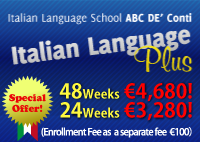 Italian Language Plus course