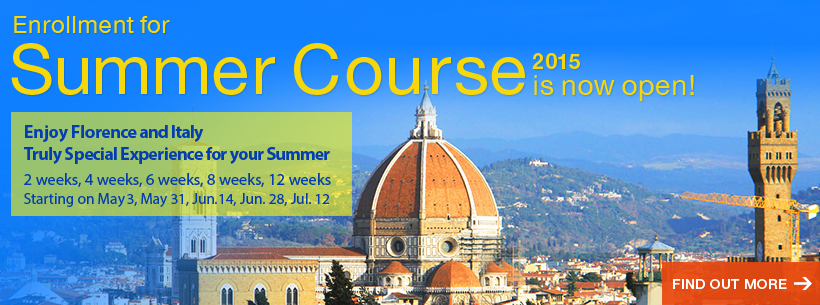 Summer Course in Italy