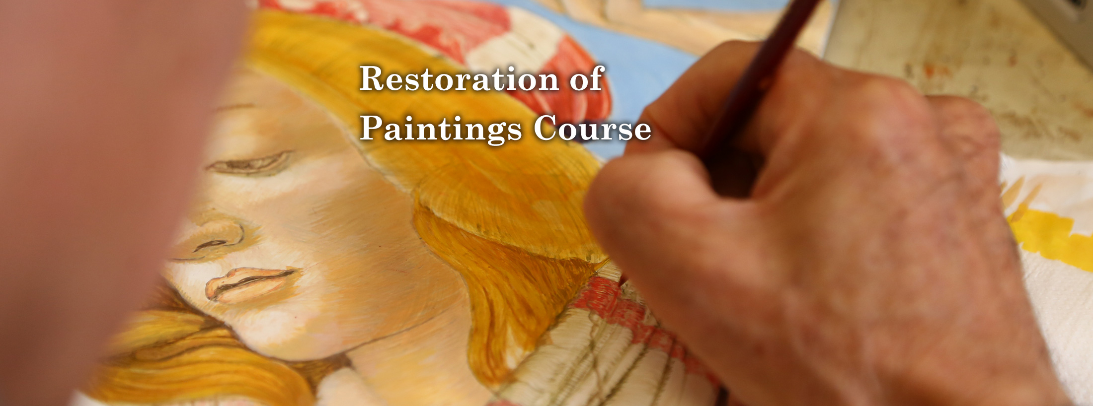 Restoration of Paintings Course