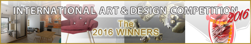 Accademia Riaci announced the winners of the INTERNATIONAL ART & DESIGN COMPETITION 2016