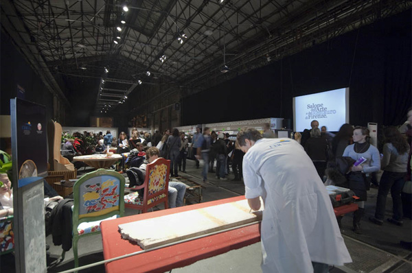 Painting Restoration Fair in Florence