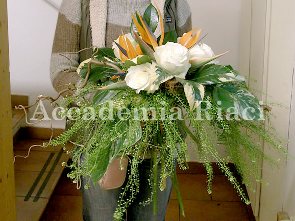 FLOWER ARRANGEMENT 3rd lesson