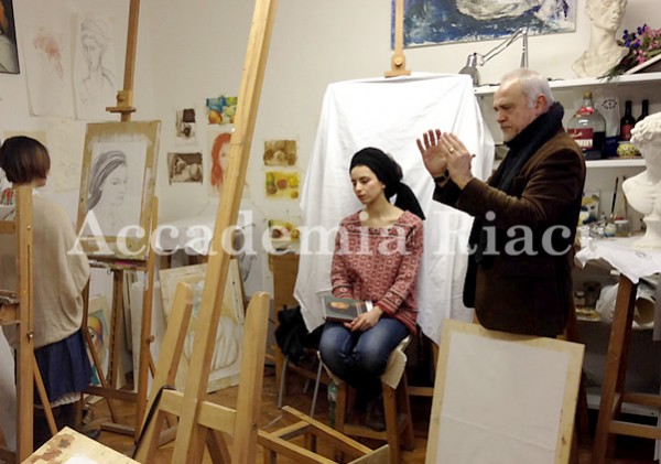 Painting & Drawing class (February 3, 2014)