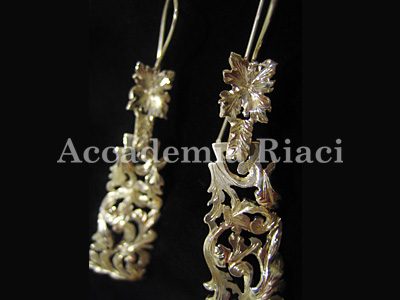 Florentine style EARRINGS 2
