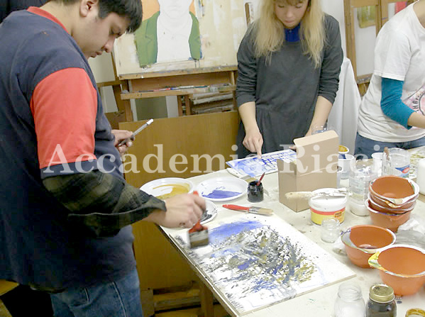 Painting & Drawing class (March 6, 2014)