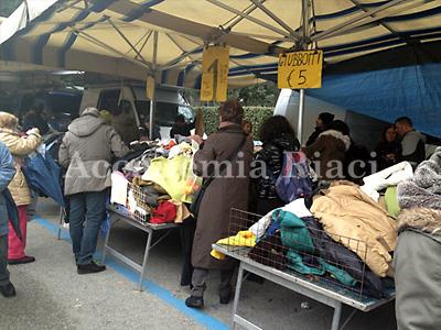 Al mercato delle Cascine
