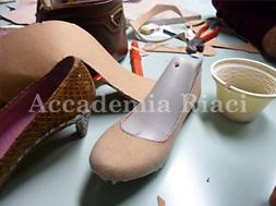 パンプス接着方法 デザイン~仮靴