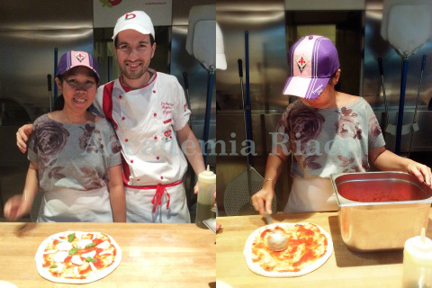 summer course pizza lesson