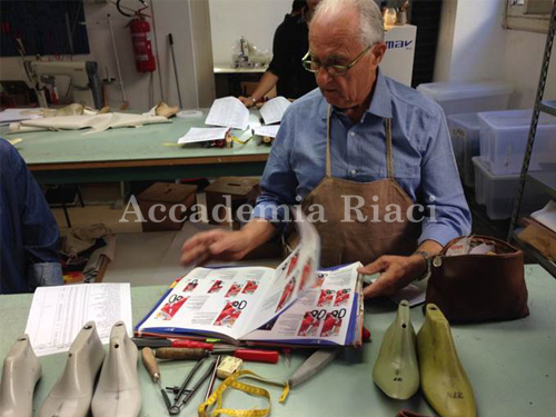 Shoe Making school in Florence Italy